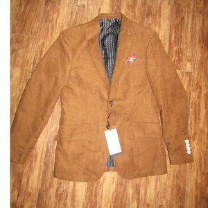 Zara Man Faux Suede Jacket 48
